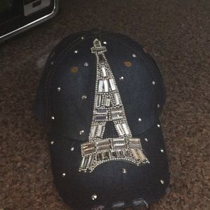 Blinged out baseball cap